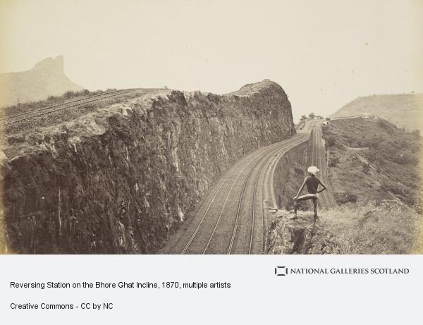 Samuel Bourne, Reversing Station on the Bhore Ghat Incline
