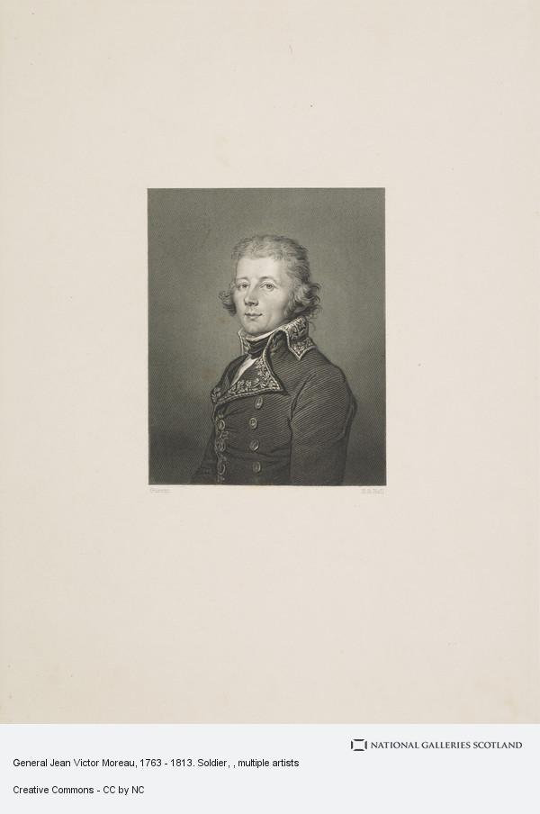 Henry Bryan Hall, General Jean Victor Moreau, 1763 - 1813. Soldier