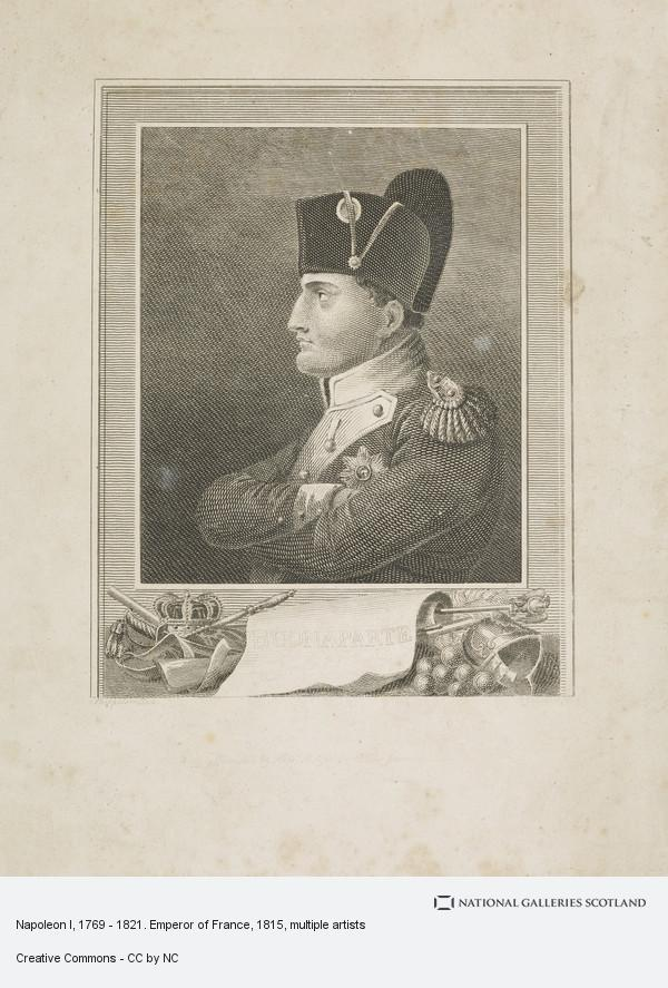 J.G. Walker, Napoleon I, 1769 - 1821. Emperor of France