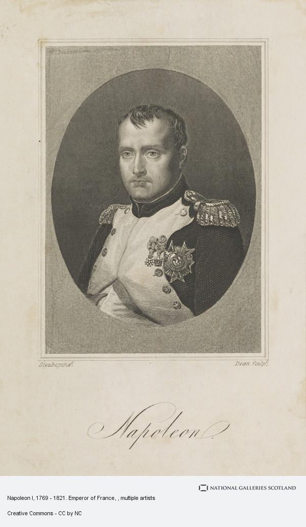 Dean, Napoleon I, 1769 - 1821. Emperor of France