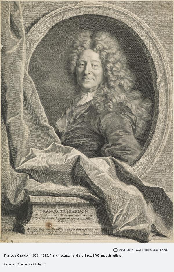 Gaspard Duchange, Francois Girardon, 1628 - 1715. French sculptor and architect