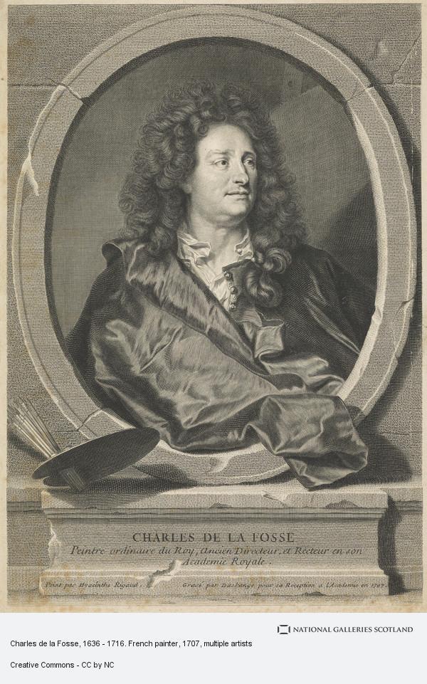 Gaspard Duchange, Charles de la Fosse, 1636 - 1716. French painter