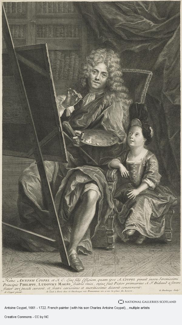 Gaspard Duchange, Antoine Coypel, 1661 - 1722. French painter (with his son Charles Antoine Coypel)