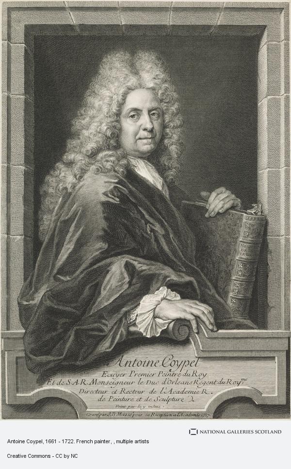 Jean-Baptiste Masse, Antoine Coypel, 1661 - 1722. French painter