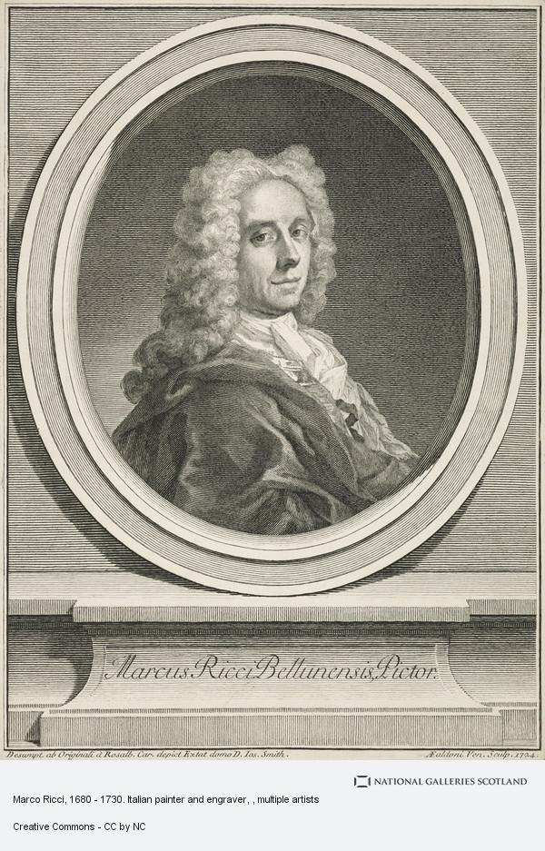 Unknown, Marco Ricci, 1680 - 1730. Italian painter and engraver
