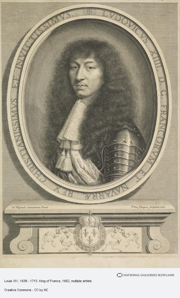 Pieter Louis van Schuppen, Louis XIV, 1638 - 1715. King of France