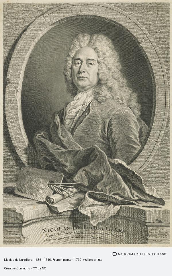 Charles Dupuis, Nicolas de Largilliere, 1656 - 1746. French painter