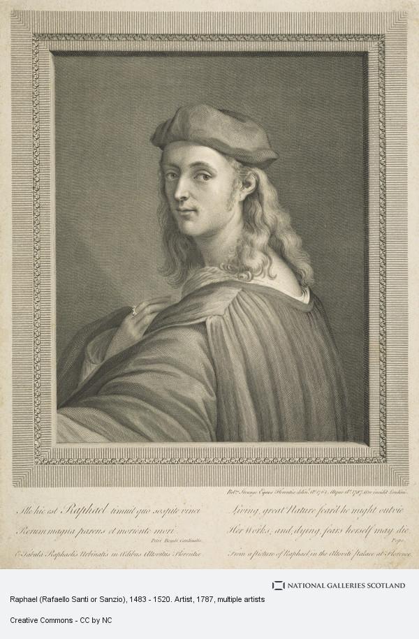 Sir Robert Strange, Raphael (Rafaello Santi or Sanzio), 1483 - 1520. Artist