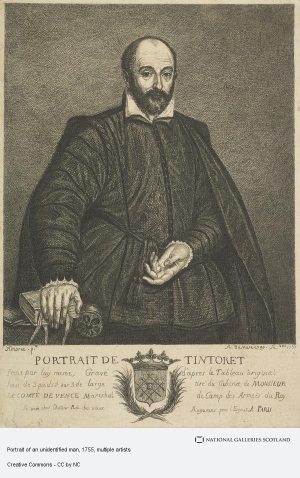 Antoine de Marcenay de Ghuy, Portrait of an unidentified man