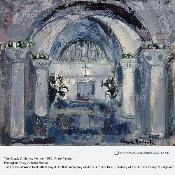 Anne Redpath, The Crypt, St Marks, Venice