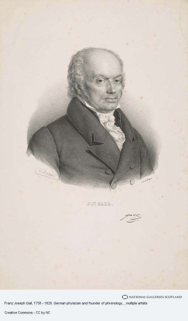 François-Séraphin Delpech, Franz Joseph Gall, 1758 - 1828. German physician and founder of phrenology