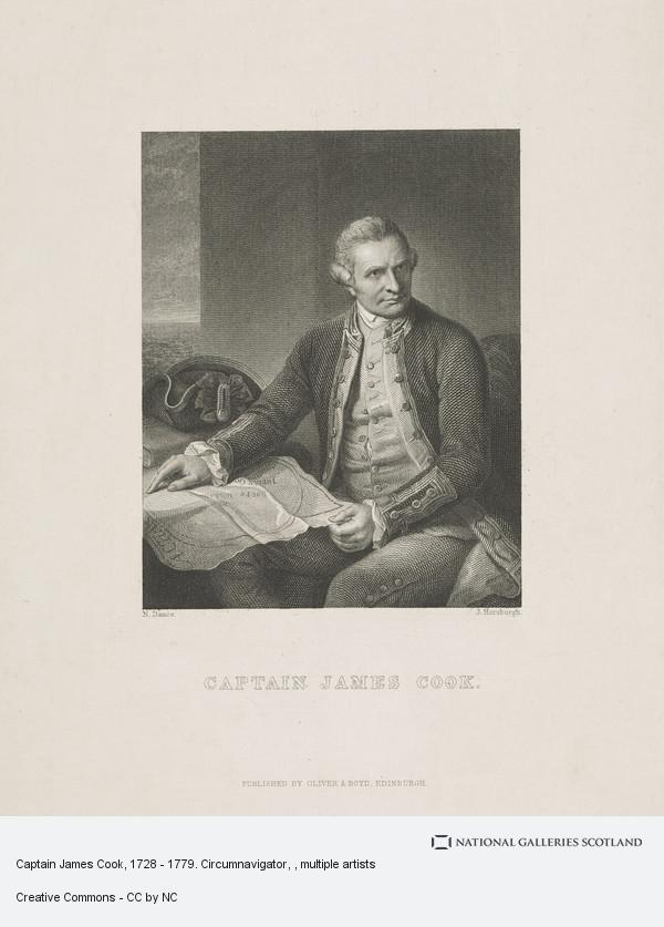 Nathaniel Dance, Captain James Cook, 1728 - 1779. Circumnavigator
