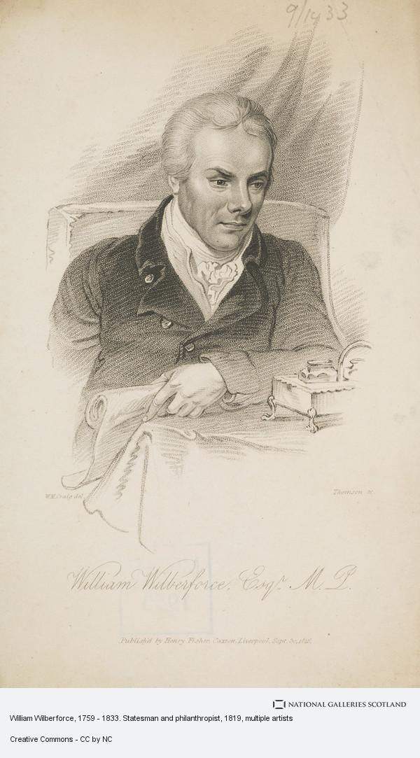 Thomson, William Wilberforce, 1759 - 1833. Statesman and philanthropist