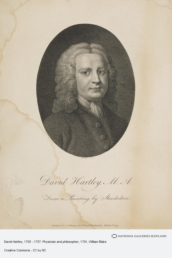 William Blake, David Hartley, 1705 - 1757. Physician and philosopher