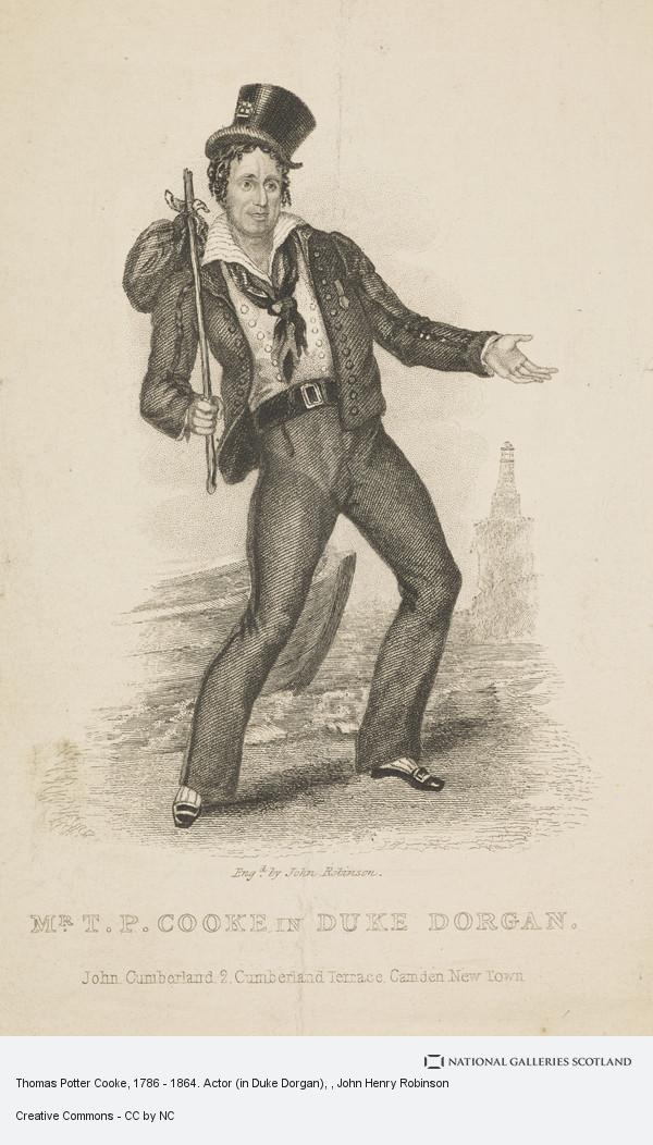 John Henry Robinson, Thomas Potter Cooke, 1786 - 1864. Actor (in Duke Dorgan)