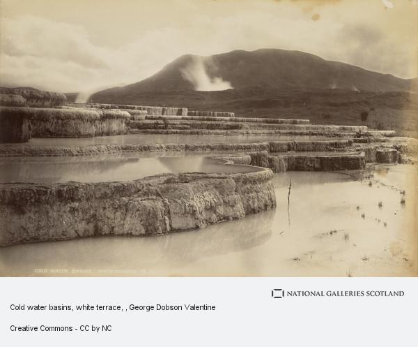 George Dobson Valentine, Cold water basins, white terrace