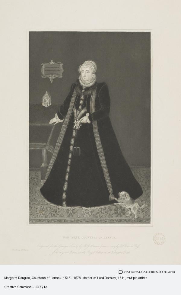 Joseph Brown, Margaret Douglas, Countess of Lennox, 1515 - 1578. Mother of Lord Darnley
