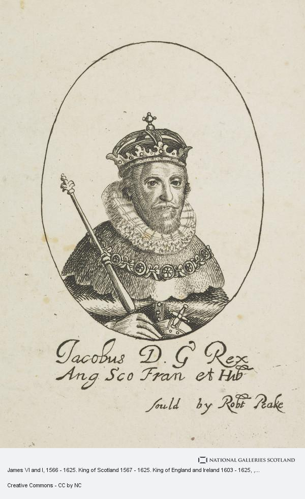Sir Robert Peake, King James