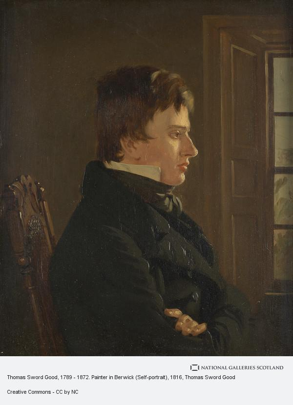 Thomas Sword Good, Thomas Sword Good, 1789 - 1872. Painter in Berwick (Self-portrait)