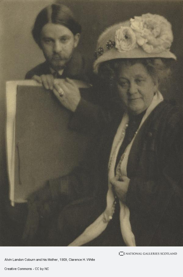 Clarence H. White, Alvin Landon Coburn and his Mother