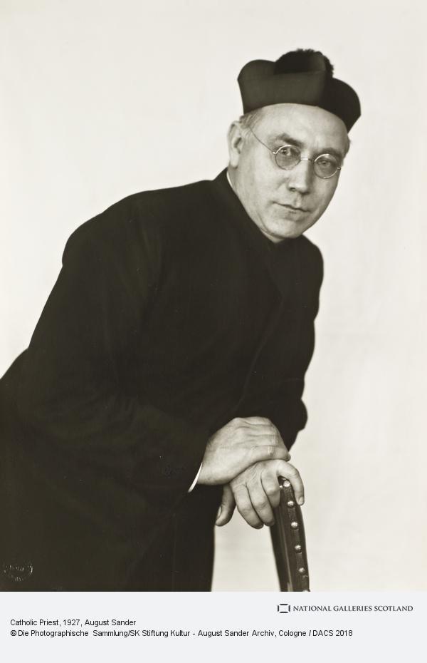 August Sander, Catholic Priest, 1927 (1927)