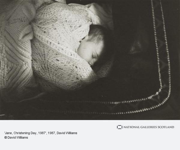 David Williams, 'Jane, Christening Day, 1987'