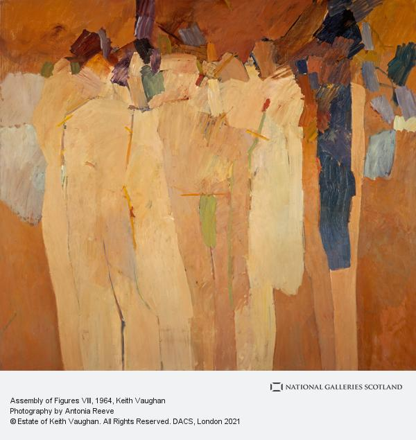 Keith Vaughan, Assembly of Figures VIII