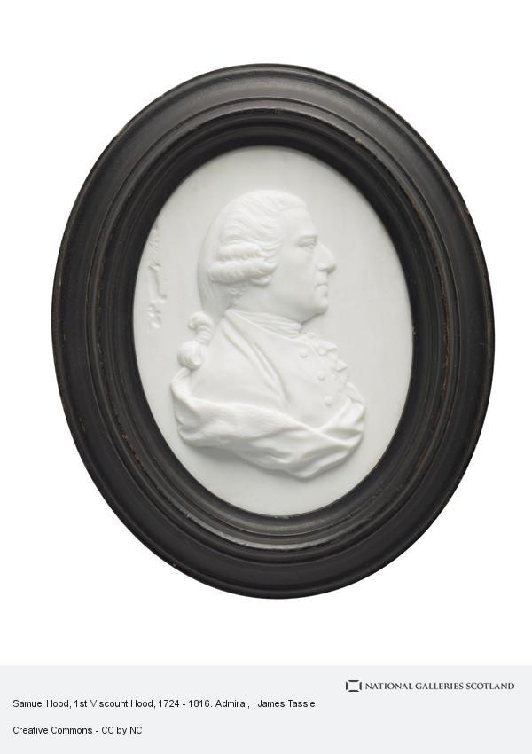 James Tassie, Samuel Hood, 1st Viscount Hood, 1724 - 1816. Admiral