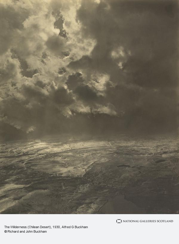 Alfred G. Buckham, The Wilderness (Chilean Desert)