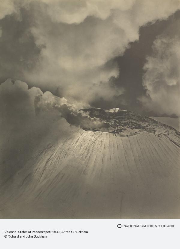 Alfred G. Buckham, Volcano. Crater of Popocatepetl