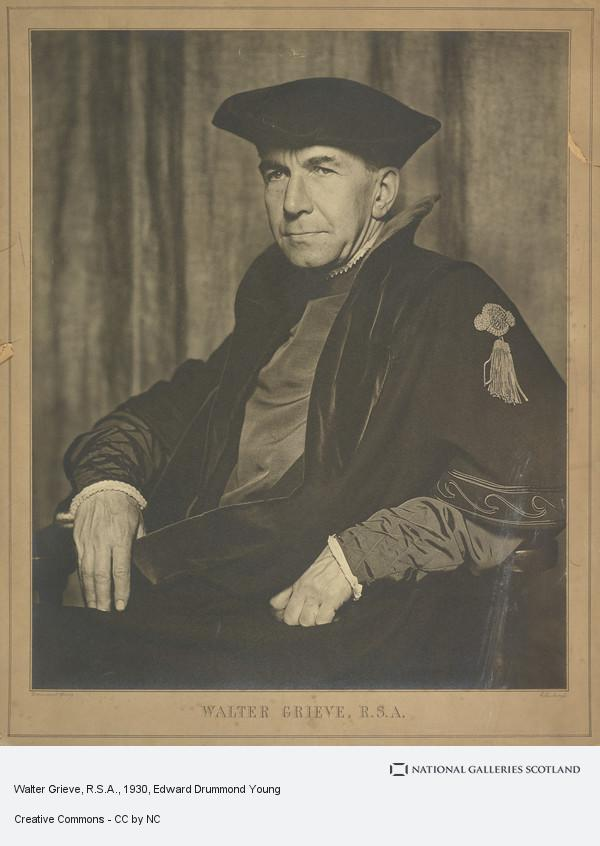 Edward Drummond Young, Walter Grieve, R.S.A.