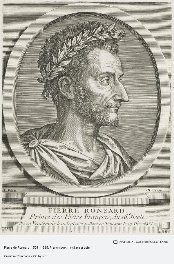 Pierre De Ronsard 1524 1585 French Poet National