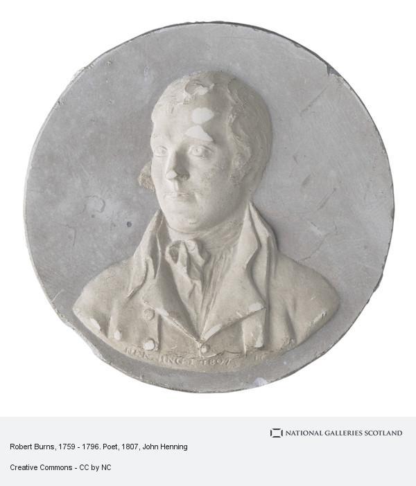 John Henning, Robert Burns, 1759 - 1796. Poet
