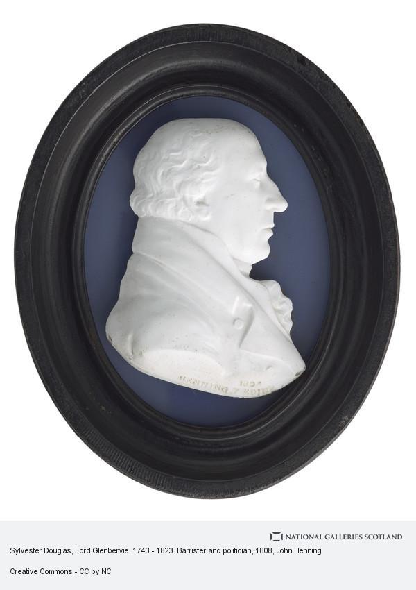 John Henning, Sylvester Douglas, Lord Glenbervie, 1743 - 1823. Barrister and politician