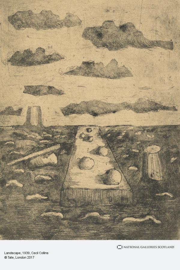 Cecil Collins, Landscape