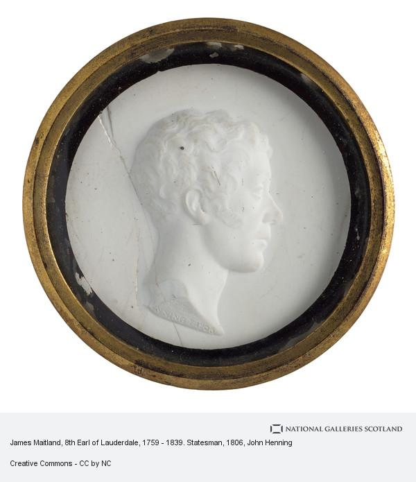 John Henning, James Maitland, 8th Earl of Lauderdale, 1759 - 1839. Statesman