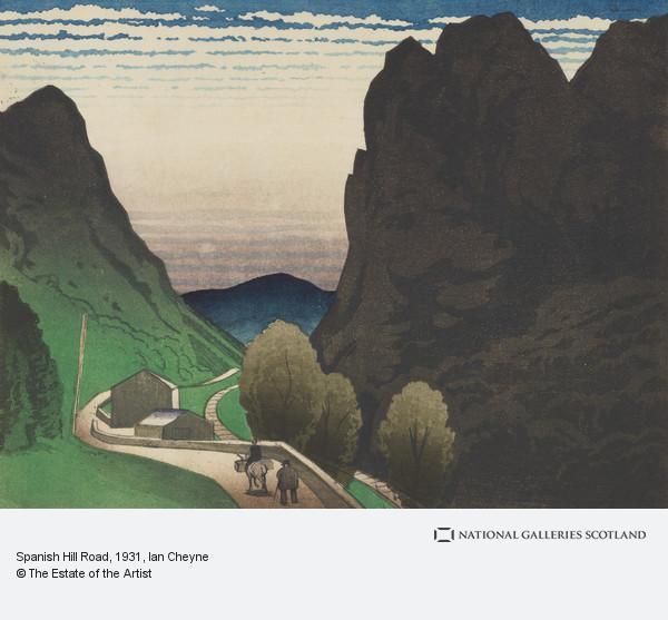 Ian Cheyne, Spanish Hill Road