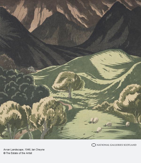 Ian Cheyne, Arran Landscape