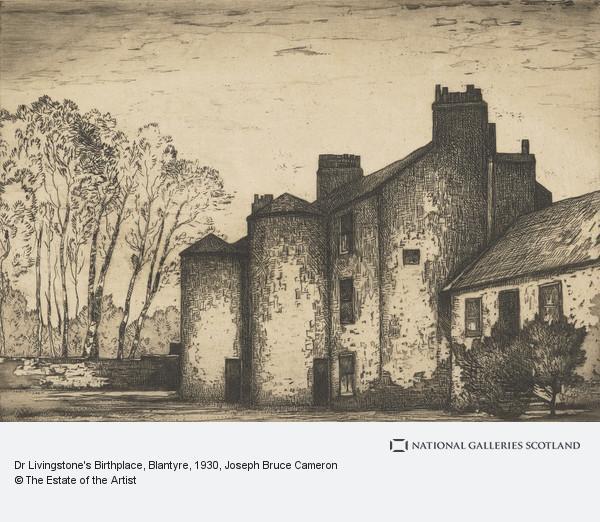 J. Bruce Cameron, Dr Livingstone's Birthplace, Blantyre