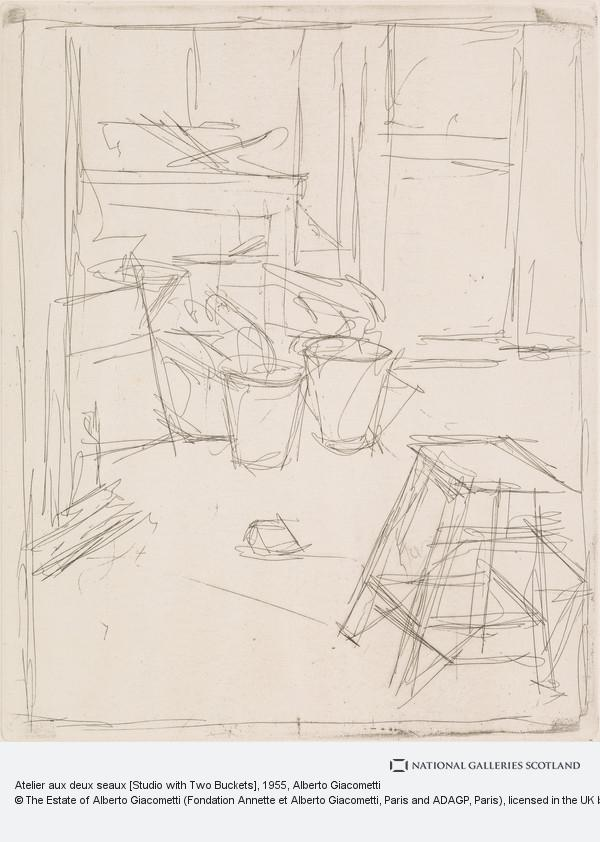 Alberto Giacometti, Atelier aux deux seaux [Studio with Two Buckets]