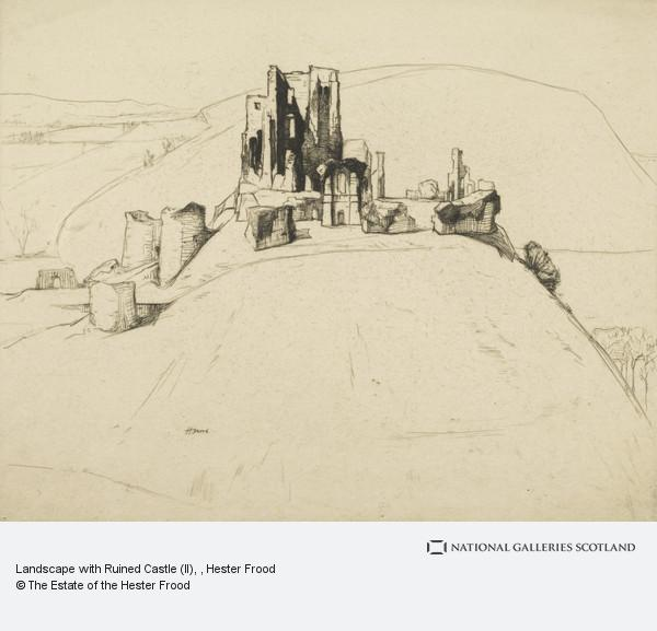 Hester Frood, Landscape with Ruined Castle (II)