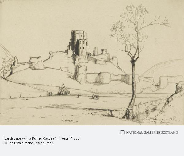 Hester Frood, Landscape with a Ruined Castle (I)