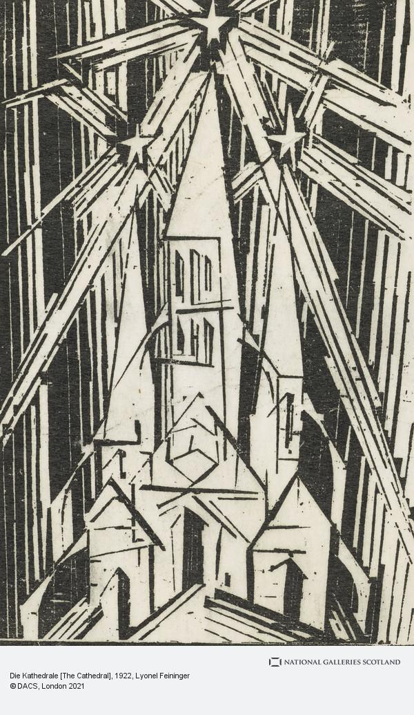 Lyonel Feininger, Die Kathedrale [The Cathedral]