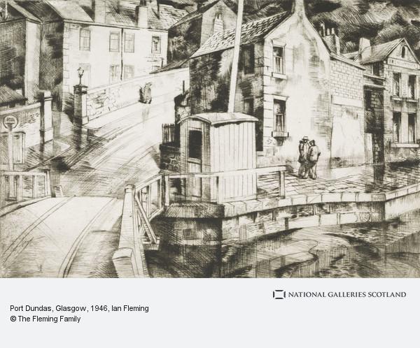 Ian Fleming, Port Dundas, Glasgow