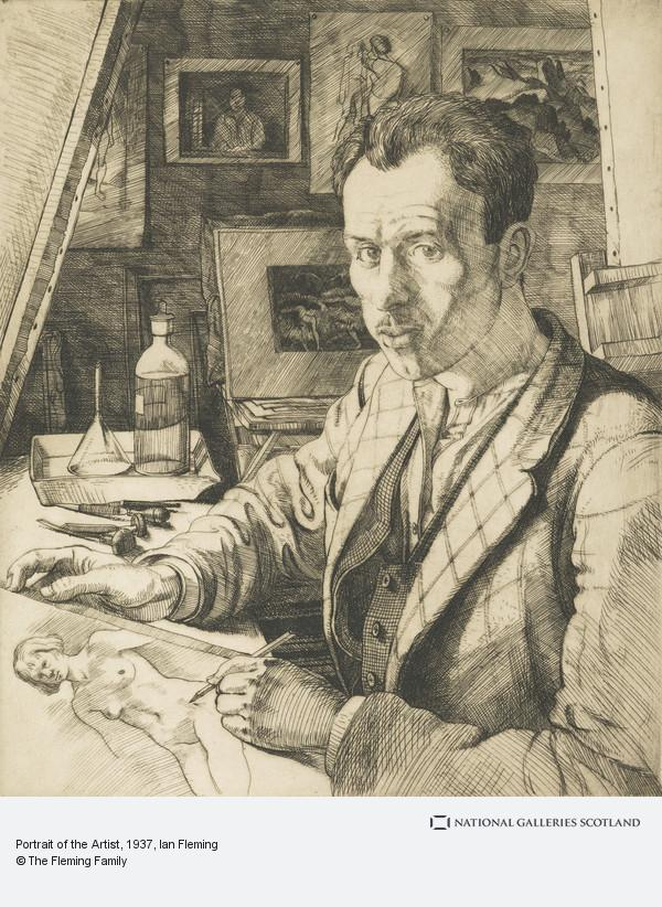 Ian Fleming, Portrait of the Artist