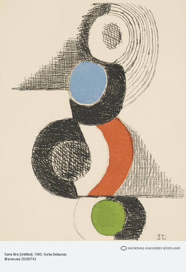Sonia Delaunay, Sans titre [Untitled]