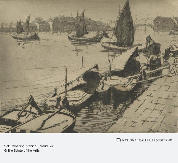 Maud Ede, Salt Unloading, Venice