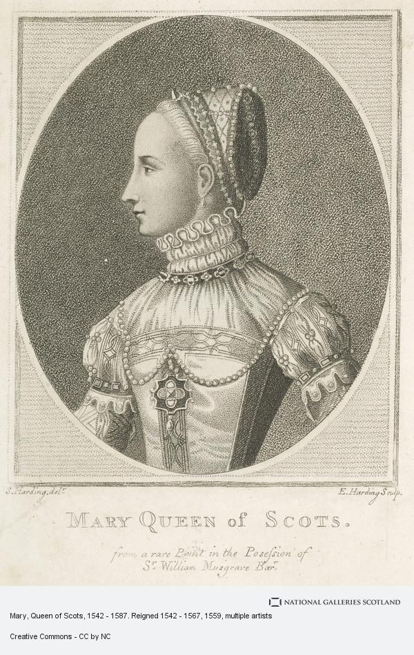 Edward Harding, Mary, Queen of Scots, 1542 - 1587. Reigned 1542 - 1567