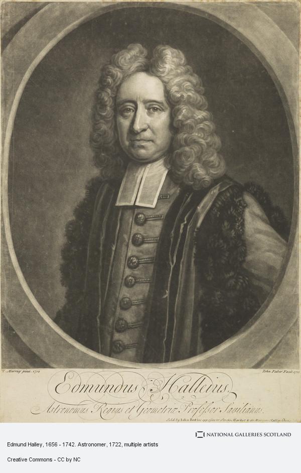 Thomas Murray, Edmund Halley, 1656 - 1742. Astronomer