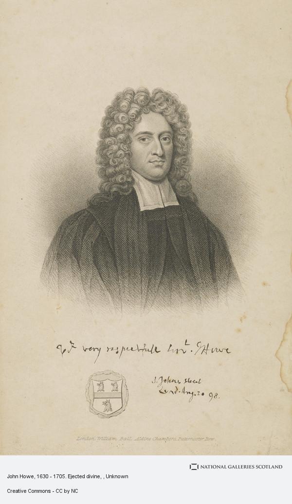 John Howe 1630 1705 Ejected Divine National Galleries Of Scotland